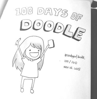 Uber高级产品设计师告诉你,她是如何完成100天插画设计挑战的!