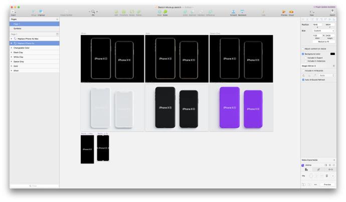超全!最新的iPhone XS 展示模板打包下载!