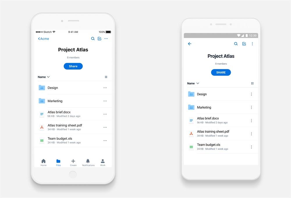 Dropbox设计师:如何让界面信息更加聚焦?