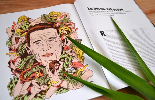 专访法国复古插画设计师 Mathieu Freak City