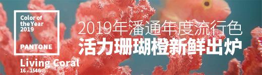 温暖与生命力!2019年潘通年度流行色「活力珊瑚橙」新鲜出炉! - 优设-UISDC