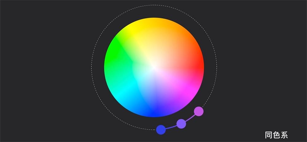 你的配色看起来总是不舒服?用这个策略性配色法则!