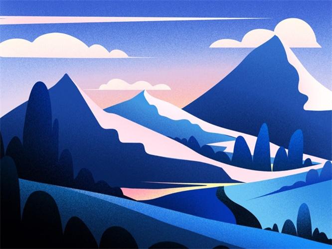 优设专访!追波上超会配色的插画师Febin Raj有哪些独家设计秘诀?