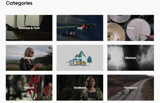 免费可商用!这个网站有超多好看又能打的高质量视频素材!