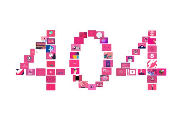 细节话题  404页面 - 优设网 - UISDC