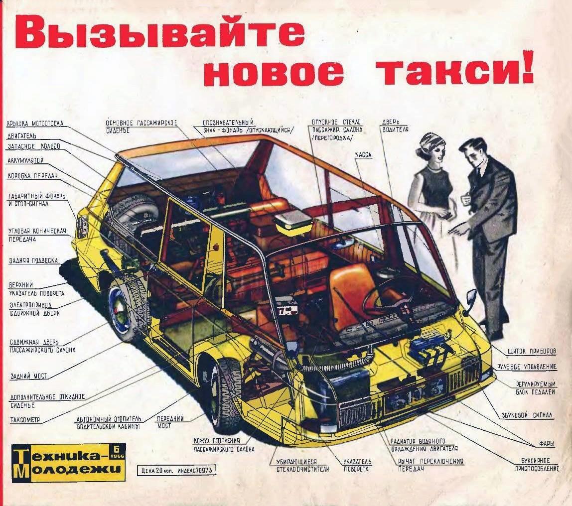 这辆苏联「面的」,给用UX设计提供了哪些经验?