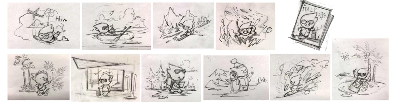 如何打造一个讨人喜欢的品牌卡通形象?来看飞猪2.0 的实战案例!