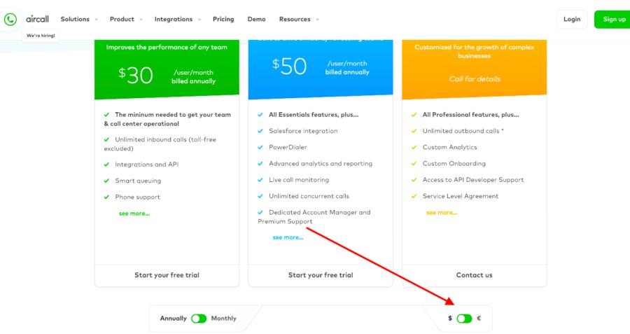 用户转化率低?看看这21个高转化率的定价页面的设计秘诀