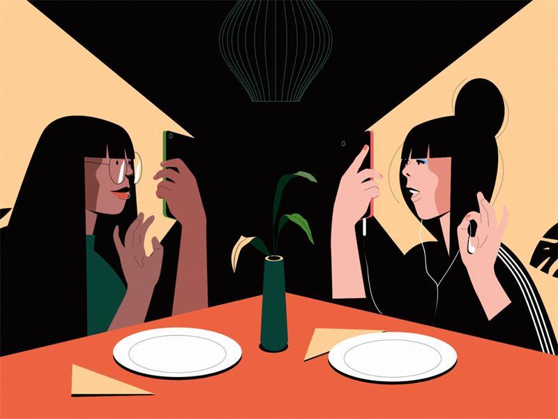 优设专访!与Facebook合作的插画师有哪些私藏绘画心得?