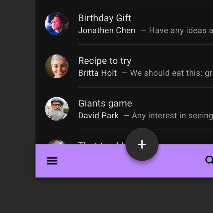 谷歌深色主题设计规范