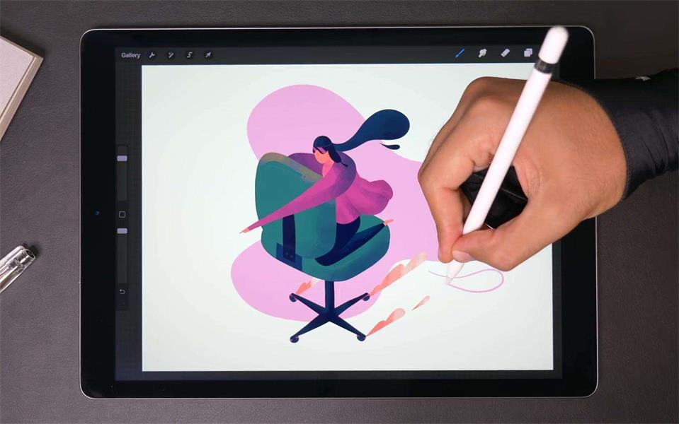 iPad 上的绘画神器 Procreate 到底怎么用?给你一份完整的实战案例参考!