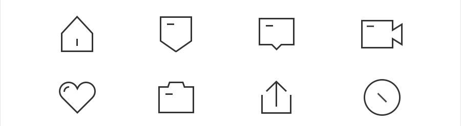 图标太多分不清楚?可能是最全面的图标设计类型和风格总结!