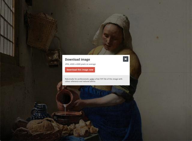 荷兰国家博物馆数十万艺术作品免费下载,全是高清大图!