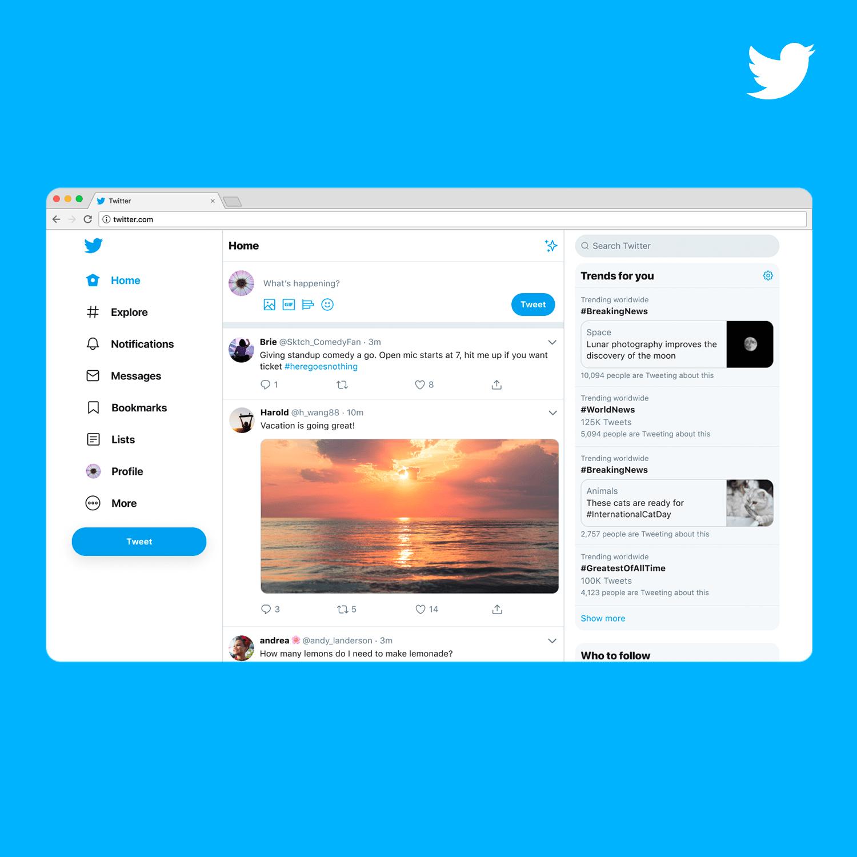时隔 7 年!围观Twitter 网页版重磅更新
