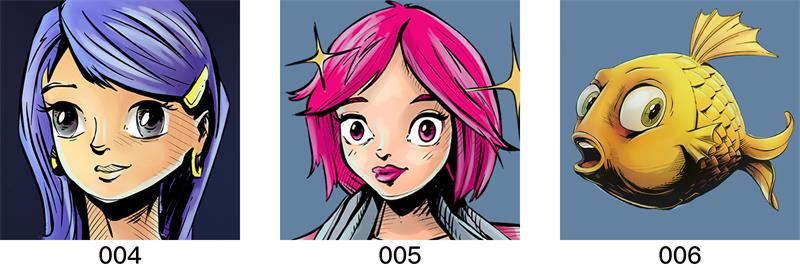 腾讯给20年前的QQ经典头像做了一波重设计,新版太帅了!