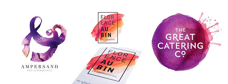 2019年设计圈流行的水彩,原来有这么多用法!