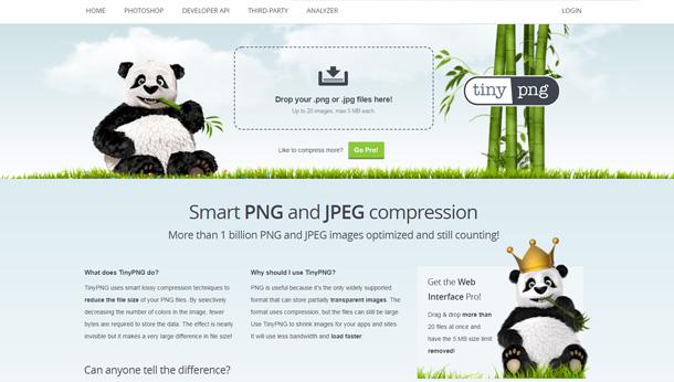 用好这个在线图片压缩神器TinyPNG !能帮你的老板省钱