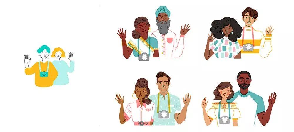 从超多案例中,我总结了 2020 年值得关注的 8 个插画设计趋势