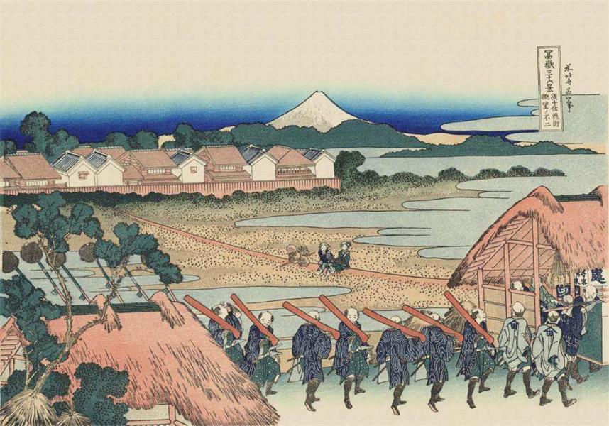 用一篇超全面的文章,帮你掌握日本浮世绘的流派与风格