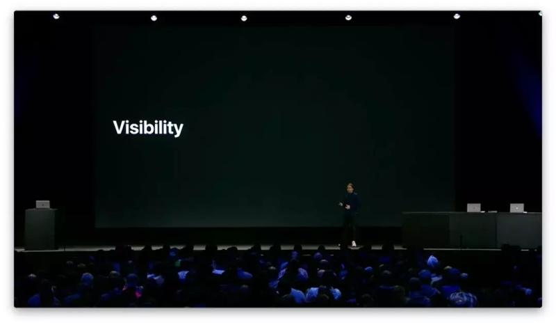 图解WWDC 设计分会:基础设计原理 – 可见性与一致性