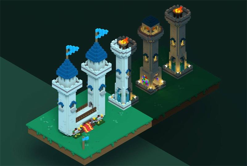 想学最好上手的3D建模软件MagicaVoxel?这里有超多教程!