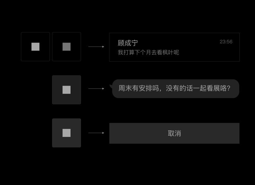 腾讯案例复盘!QQ 的极简与夜间模式设计过程总结!