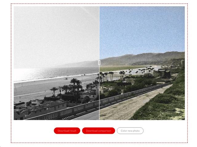 让黑白照片变彩色!这个人工智能网站免费帮黑白照快速上色!
