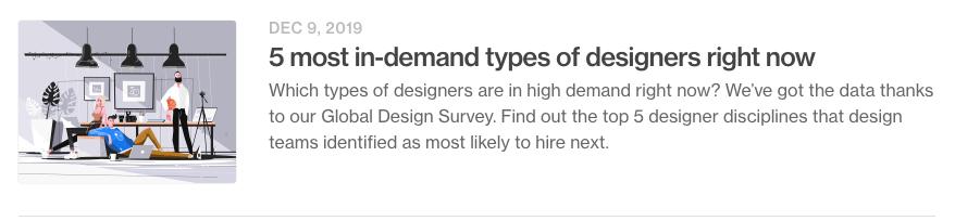 看完2020年的设计趋势,我决定学这个…