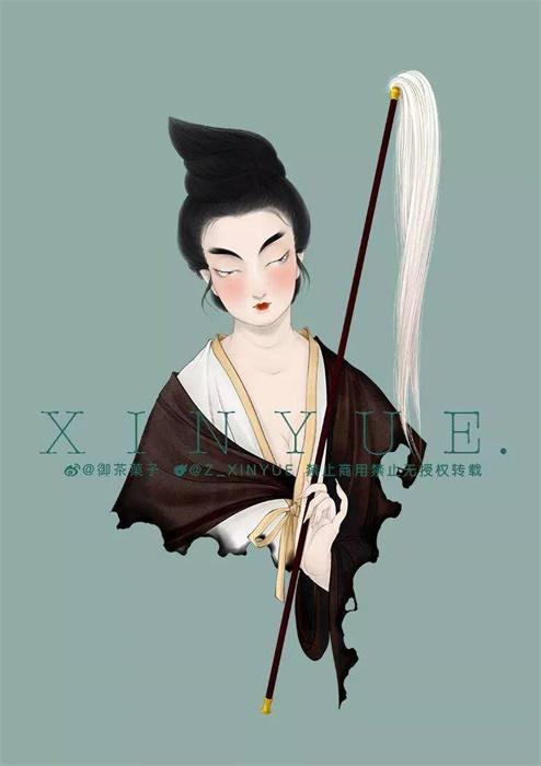 她笔下的《大唐女子图鉴》太惊艳!上千年前的美妆博主原来这么魅惑