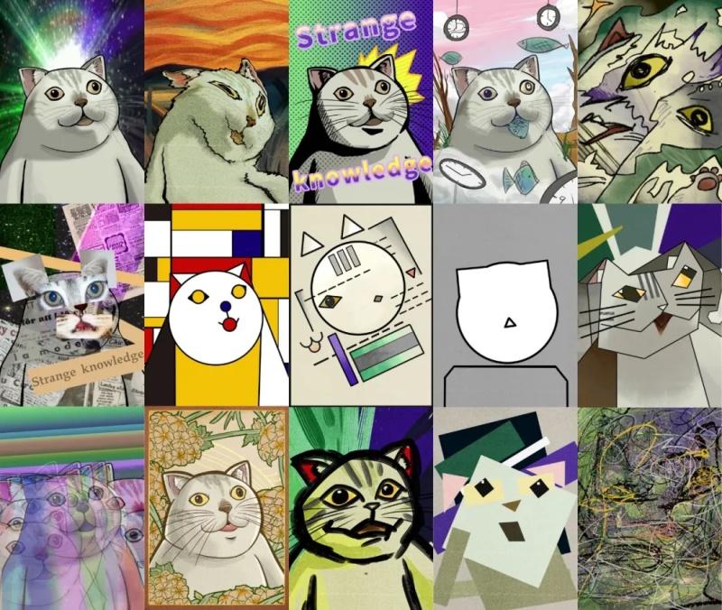 用14张表情包,让你秒懂各大艺术流派!