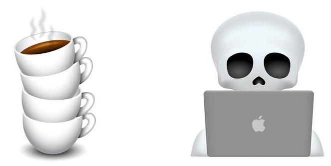 施德明工作室创作了一套设计师专属Emoji,太传神了!