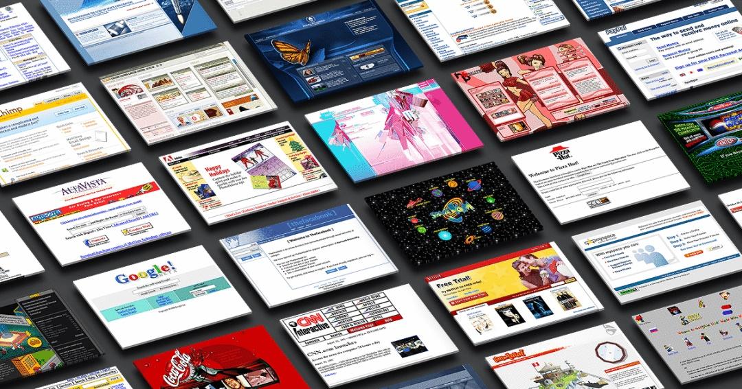 这座网页设计博物馆,让我回到拨号才能上网冲浪的千禧年