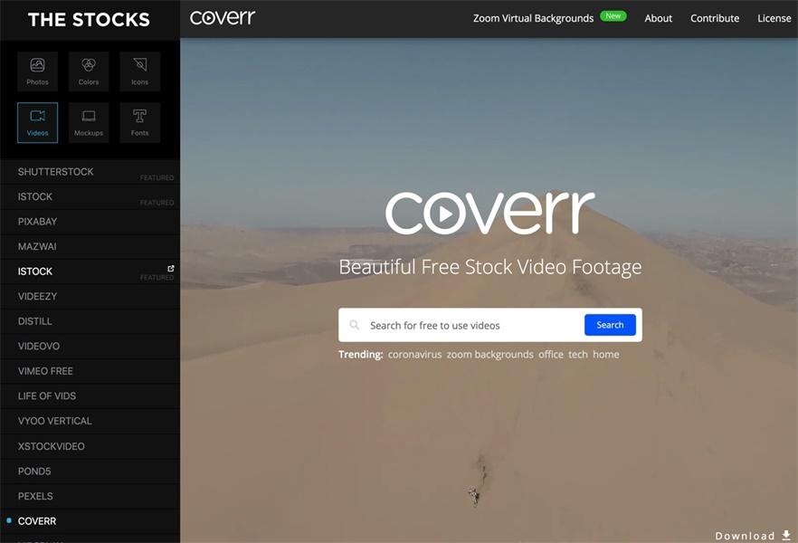 从免费图库、影片到字体,这个网站全包了!