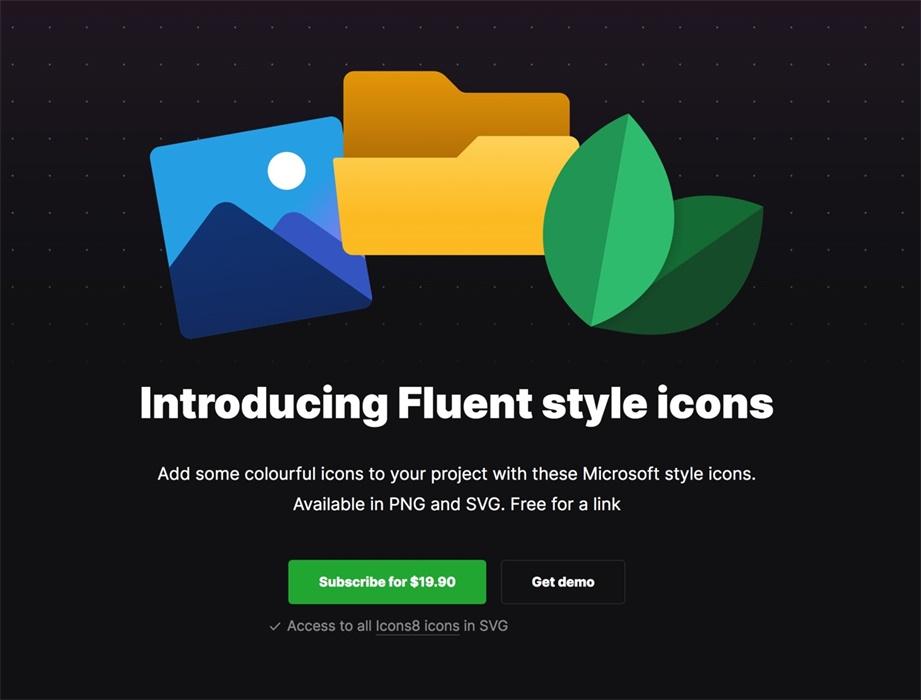 大牛出品!上千个流畅设计风格图标免费下载