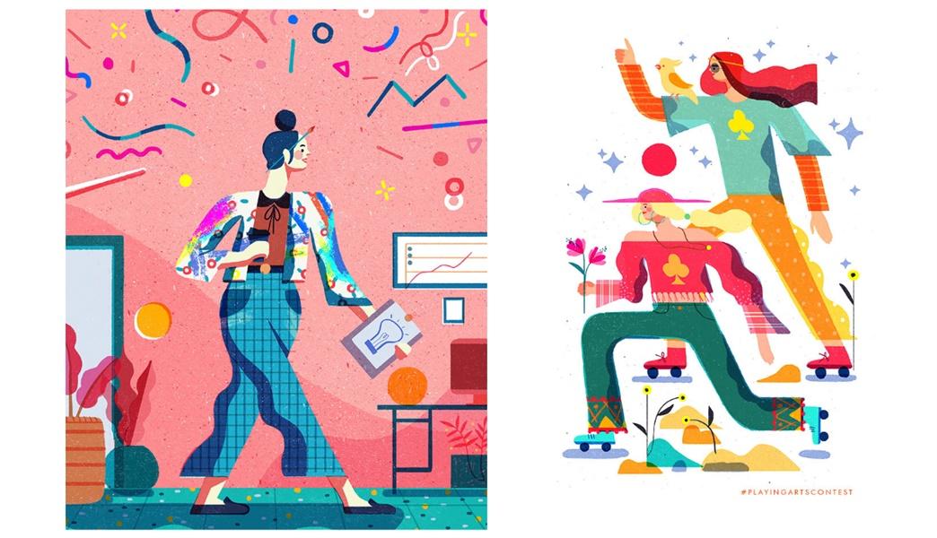 插画风格图鉴(下):数码插画是如何演化的?