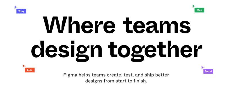 还不熟悉Figma?为你详细介绍这个面向未来的设计工具