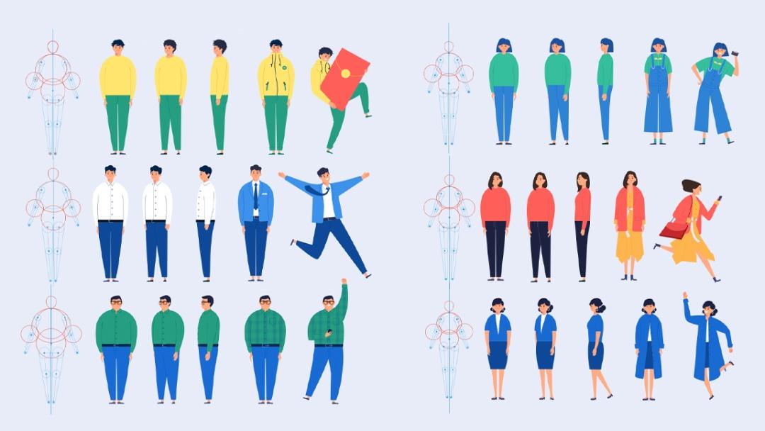如何设计并落地一套插画系统?来看58设计师的实战案例!