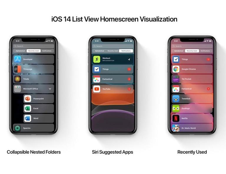 iOS 14 主界面新模式新功能,你期待嘛?