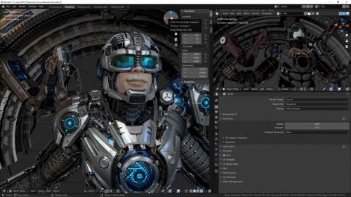 Blender让渲染更高效,RTX Studio带来全新创作体验