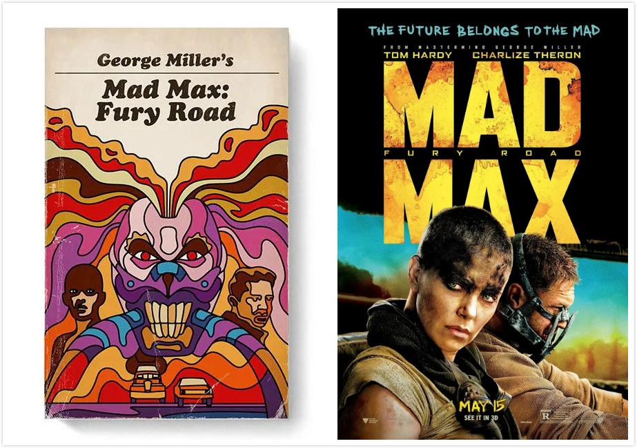 为100部现代经典电影设计复古平装书封面,你能认出几部?