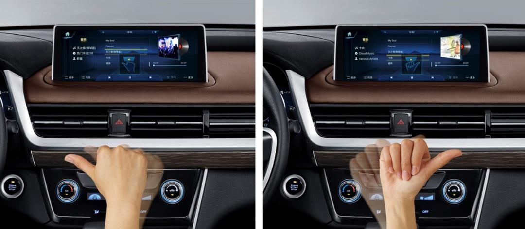 汽车交互手势,这样设计才有趣