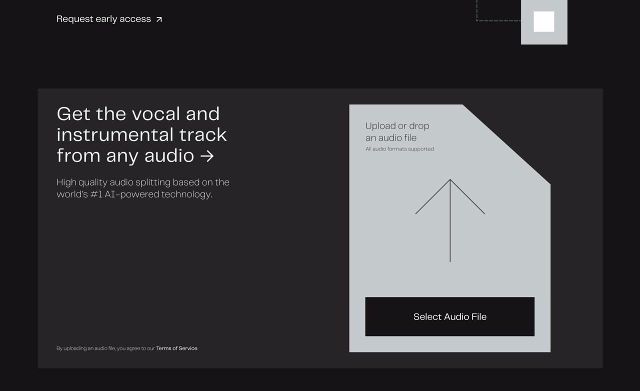 想分离人声和伴奏?这个人工智能网站能帮你!