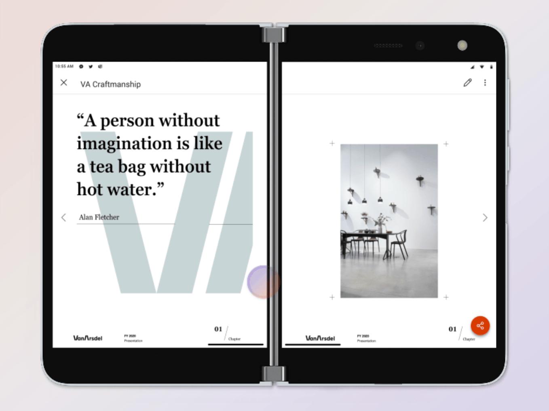 微软设计负责人专访:我们是如何创造双屏设计的?