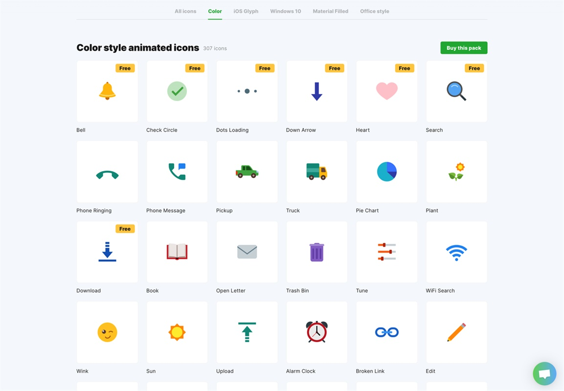 数百种动态效果可商用!Icon 8官方出品的动态图标库来了!