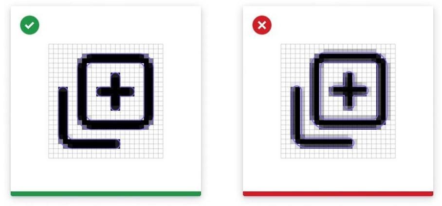 学会这 7 个技巧,画出完美图标