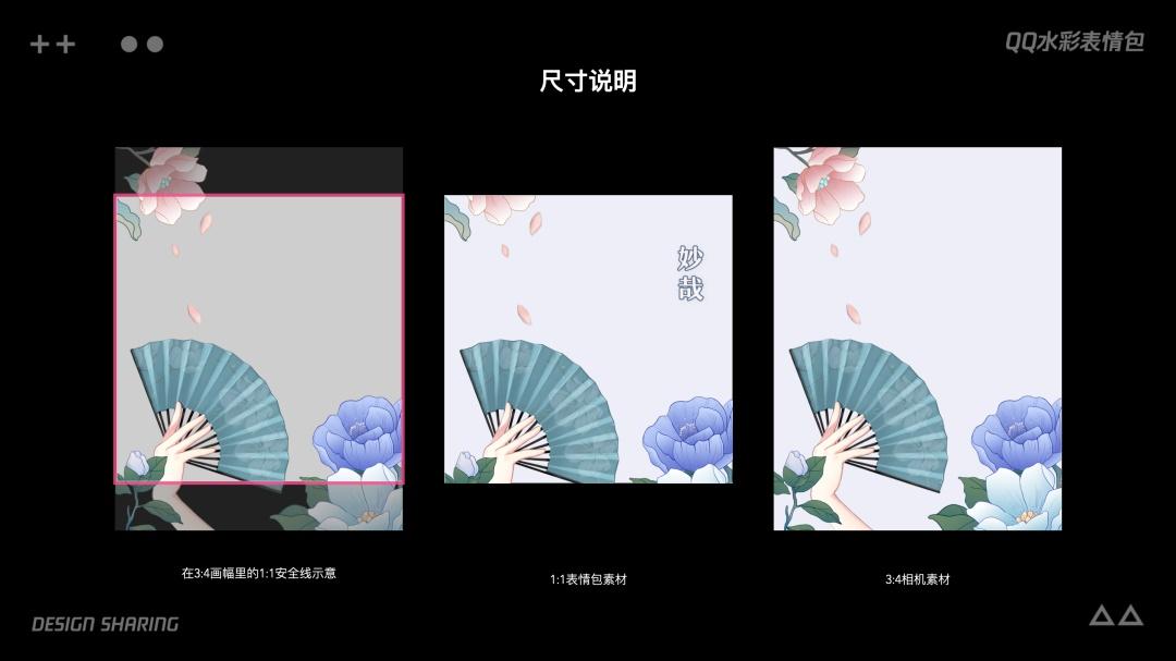 表情包还能怎么设计?腾讯QQ团队借古风玩出新高度!