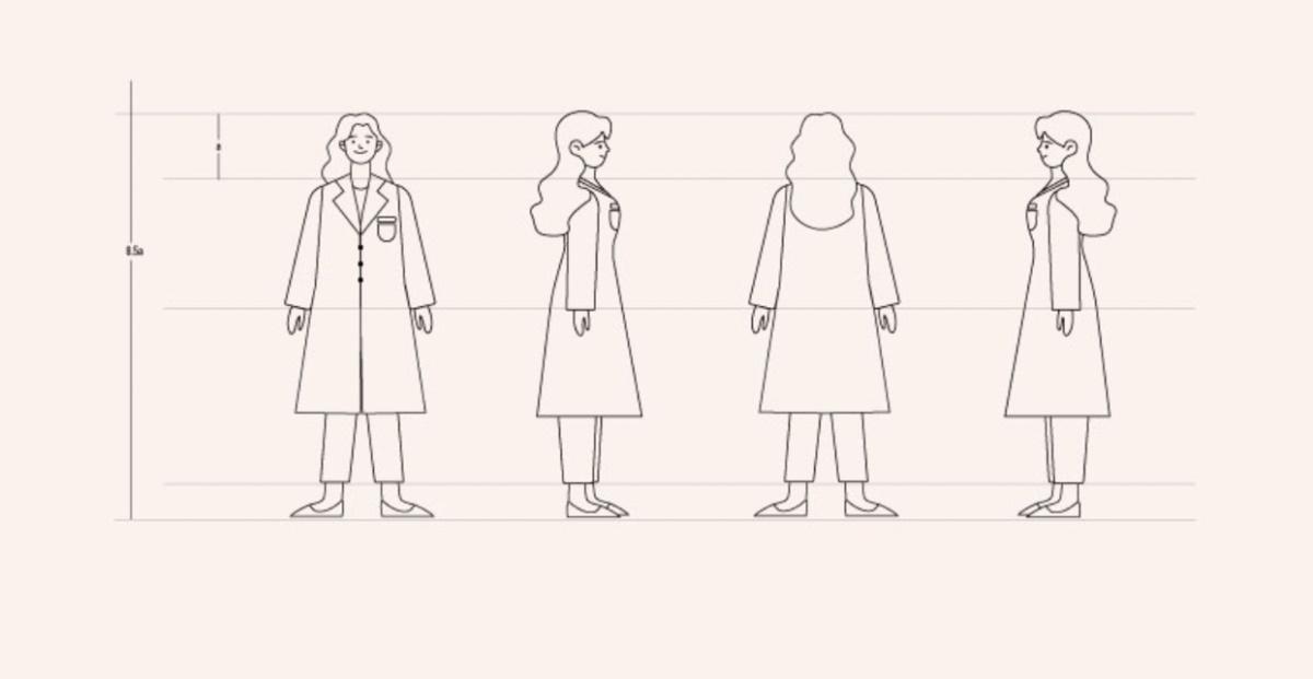 百度健康人物插画体系是如何构建的?