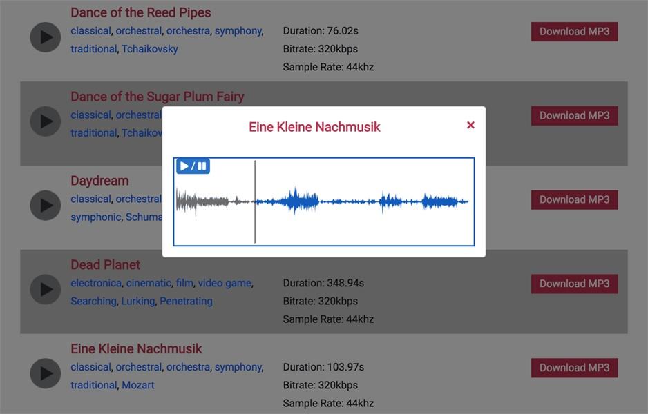 超过50万个音效素材免费下载,这个网站值得收藏!