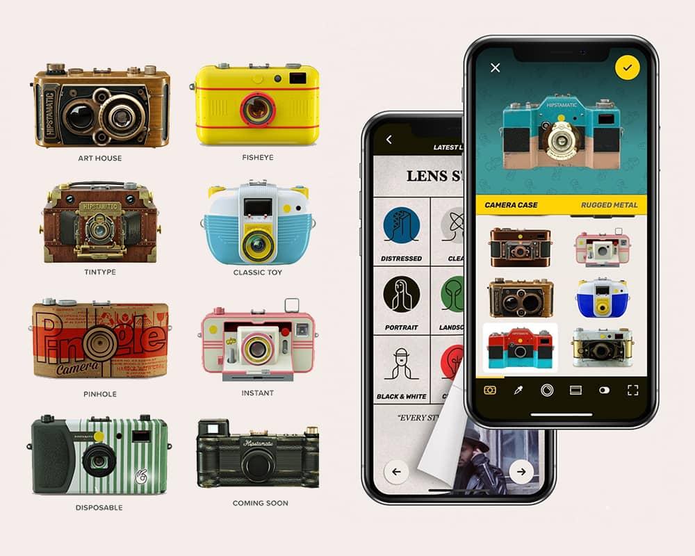 Hipstamatic X —— 一款可以DIY个人专属复古胶片相机的App