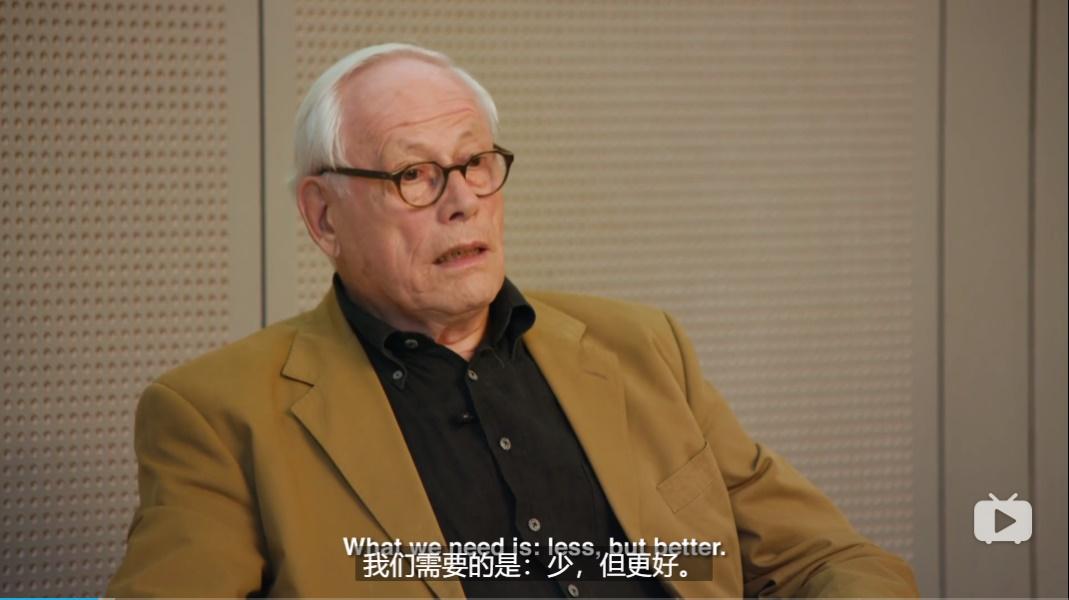 顶尖设计师Dieter Rams是如何做设计的?来看这份学习记录!